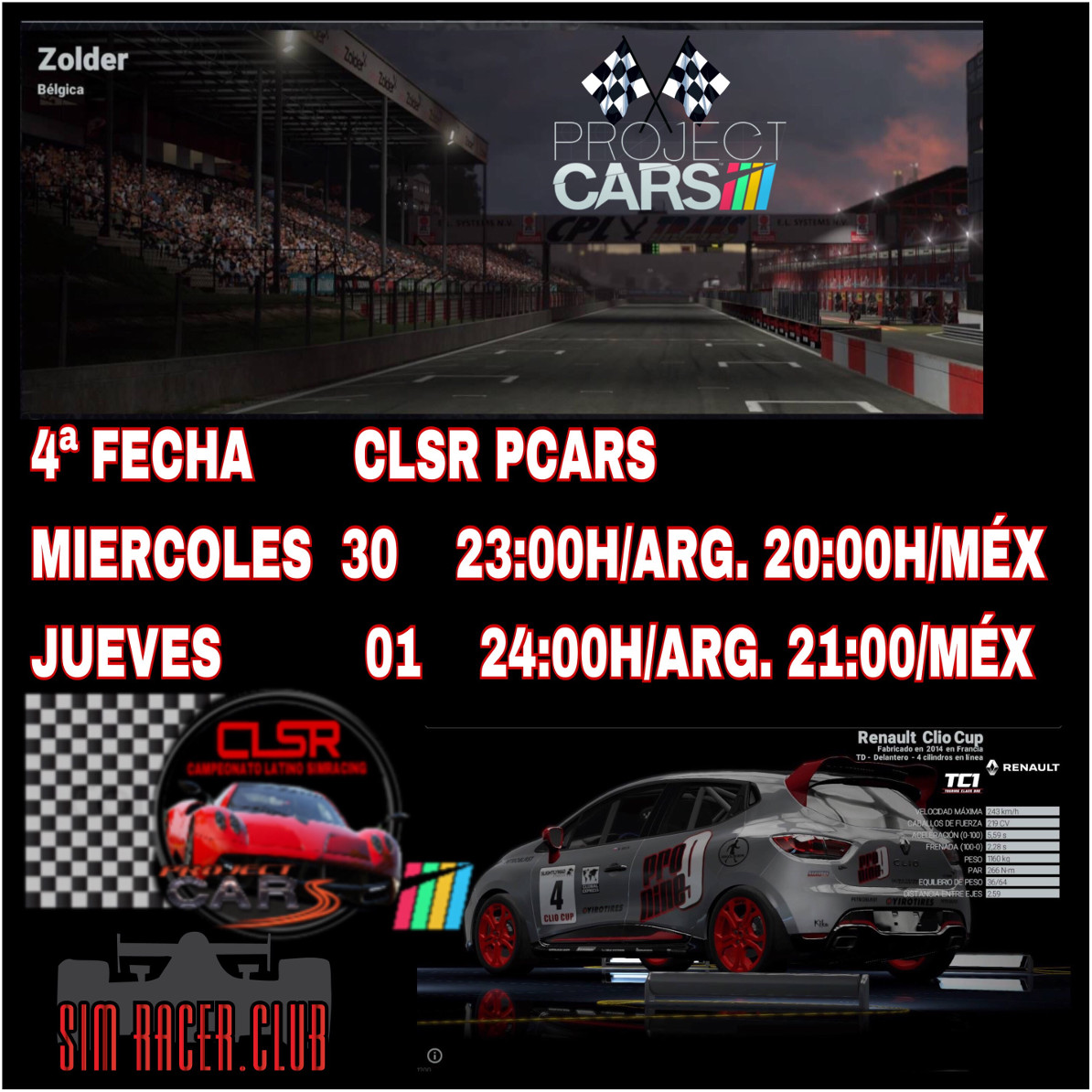 project cars fecha 4 zolder 2b0ff