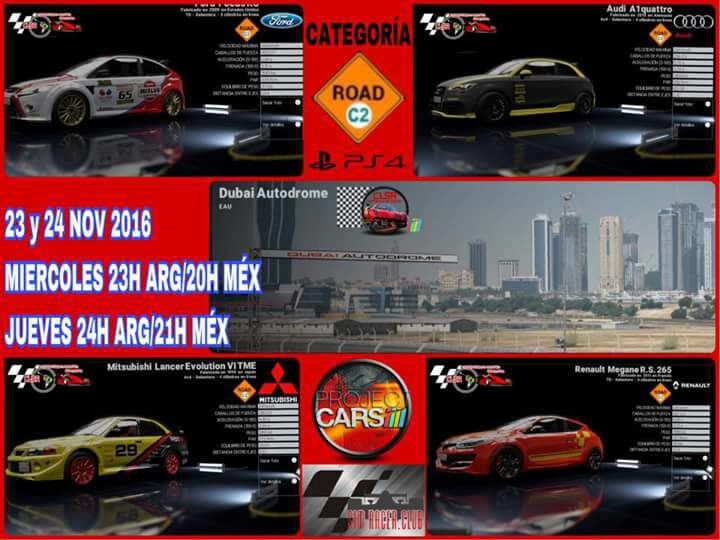 fecha 3 clsr project cars dubai 70e1e